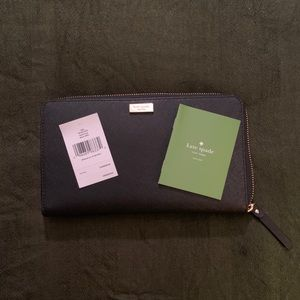 kate spade New York Saffiano Leather Wallet Clutch